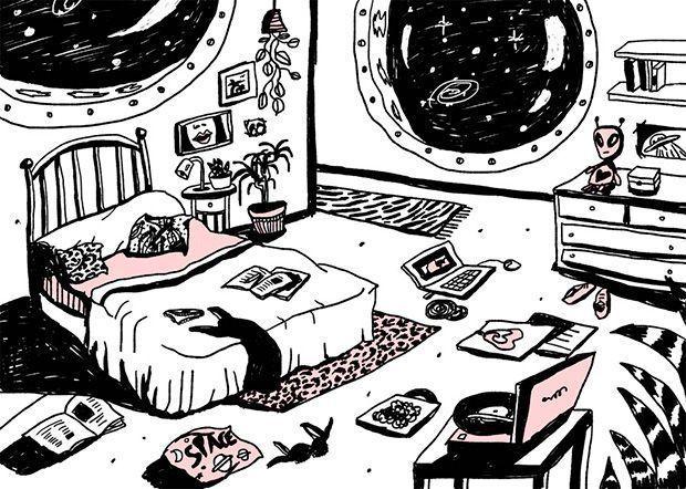 Su habitación en Pink Mousse
