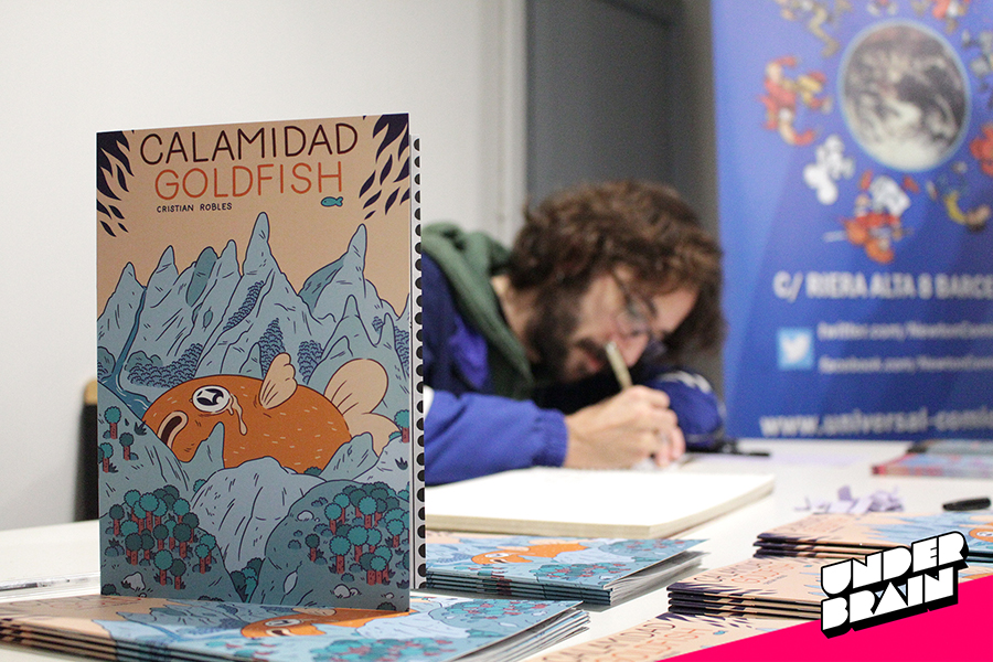 """Presentación del cómic """"Calamidad Goldfish"""""""