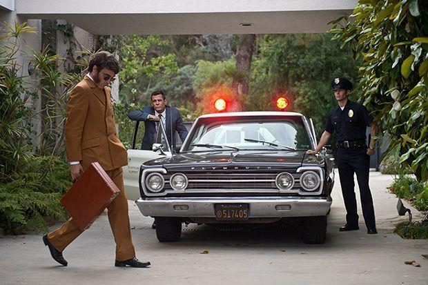 Puro vicio (Paul Thomas Anderson, 2014) - Fotograma con Joaquin Phoenix