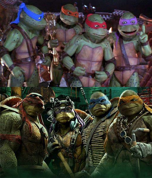 Remake Tortugas ninja innecesario