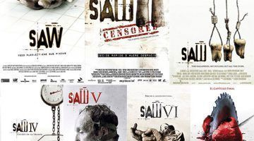 Saga: Saw (1-8)