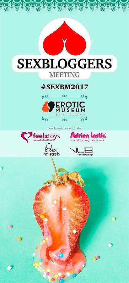 Cartel de Sex Bloggers meeting 2017
