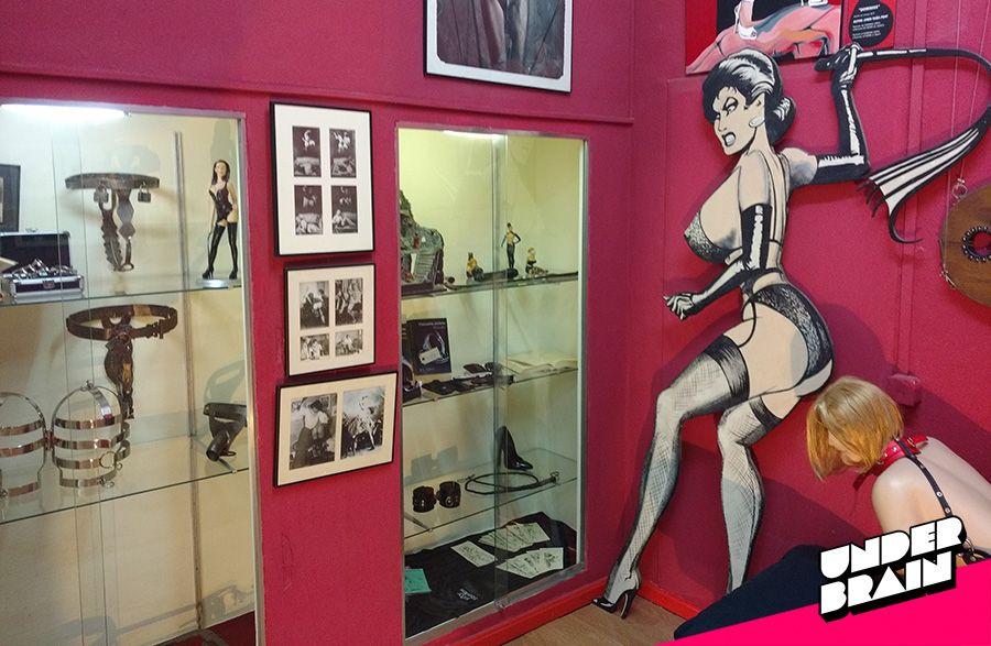 Sado en el Museo de la erótica de Barcelona
