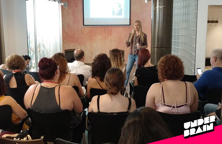 Georgina Burgos durante el Sex Bloggers Meeting 2017