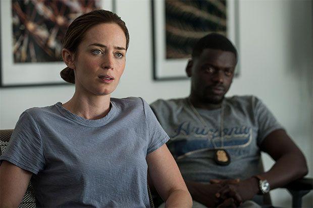 SICARIO. Kate Macer (Emily Blunt) y Reggie Wayne (Daniel Kaluuya)