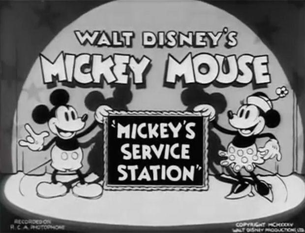 Mickey's Service Station Título
