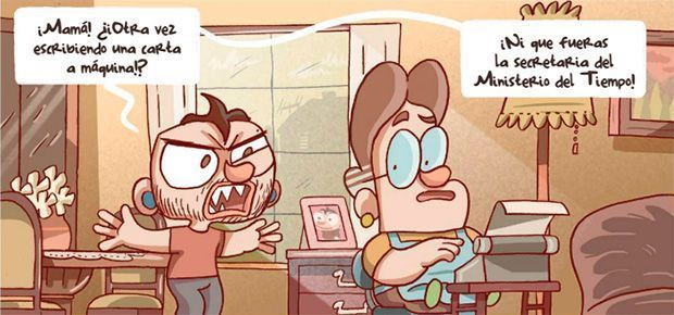 primera viñeta del cómic