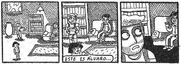 Viñetas de Roberta Vázquez