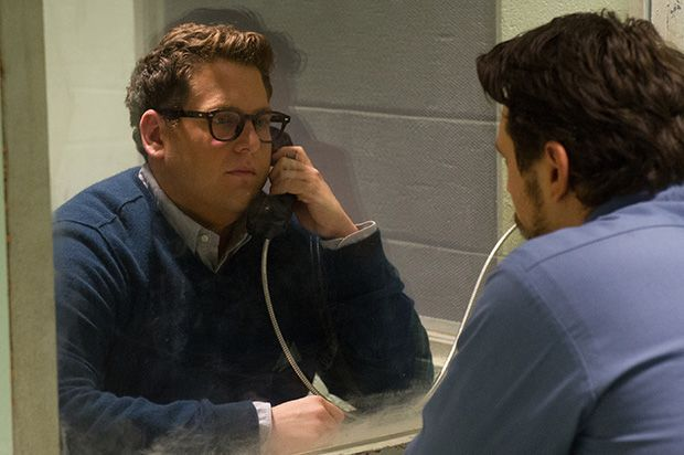 Jonah Hill y James Franco en Una historia real