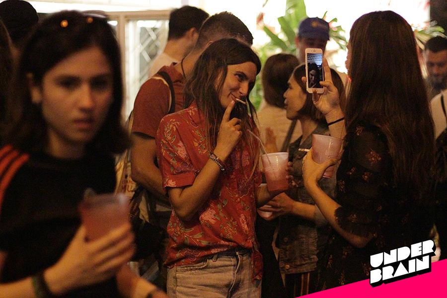 Muchas fotos en la fiesta de Vice Festivales
