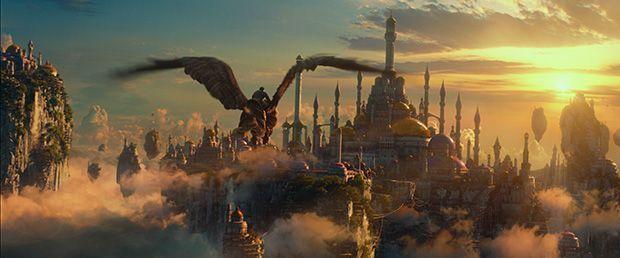 Los bellos paisajes de la película