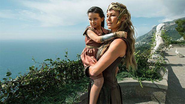 Wonder Woman de chiquilla